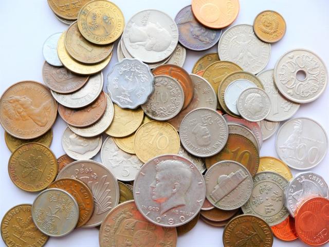 外国の硬貨や紙幣