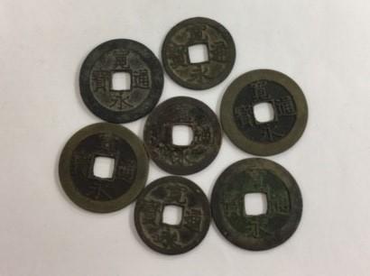 江戸時代の穴銭